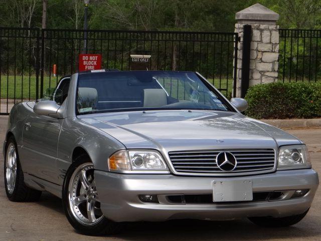 2002 Mercedes Sl500 Silver Arrow Low Miles Loaded