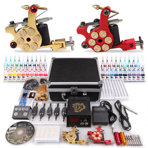 Your guide to buying tattoo kits with needles ebay for Tattoo supplies ebay
