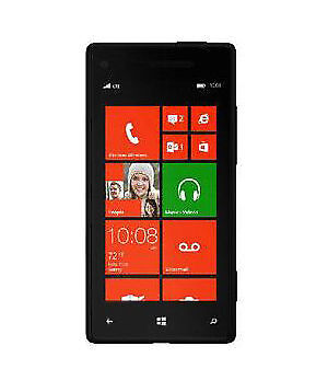 HTC  Windows Phone 8X - 16 GB - Black - Smartphone