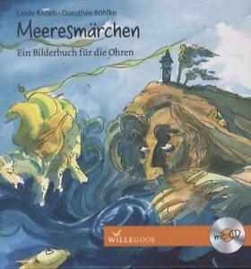 Meeresmaerchen-von-Linde-Knoch-mit-CD-WIE-NEU