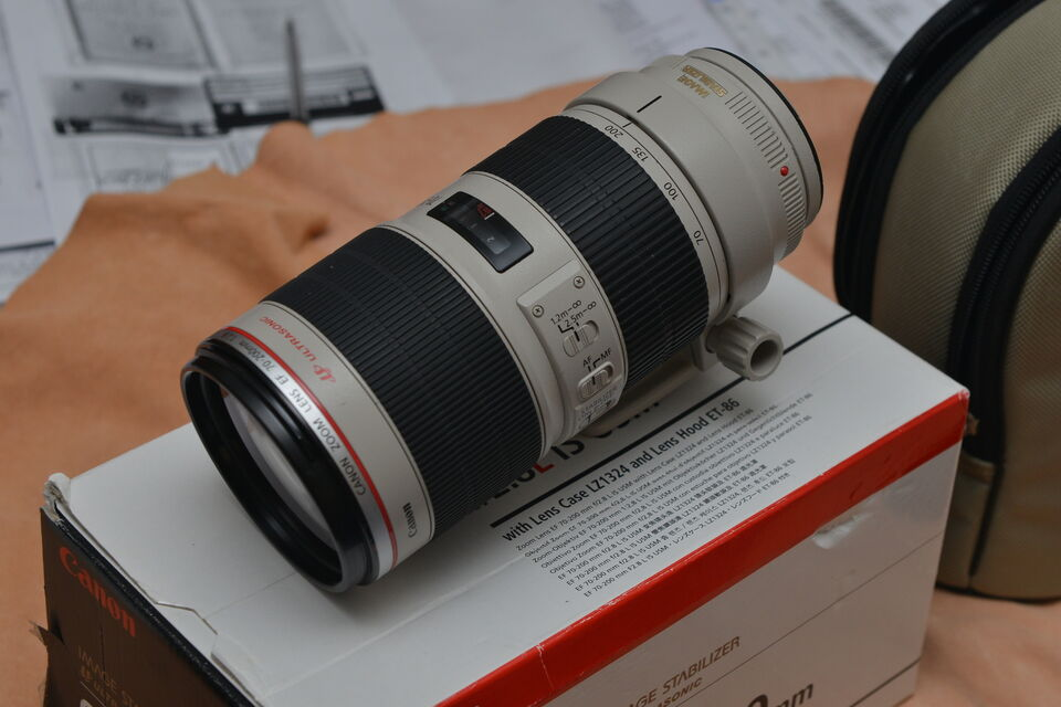Canon EF 70-200mm f2.8L IS II USM Come Nuovo