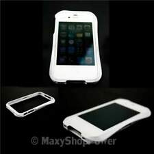 Turtle custodia bumper alluminio per apple iphone 4 4s white