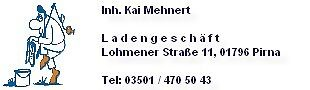 Tackle Dealer Mehnert