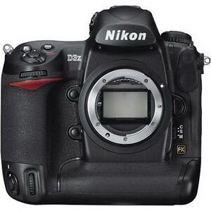 Nikon D3x Vs. Canon EOS 5D Mark II