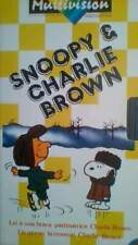 1 vhs originale Snoopy & Charlie Brown Multivision
