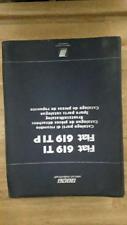Catalogo manuale ricambi per fiat 619 t i e 619 t i p