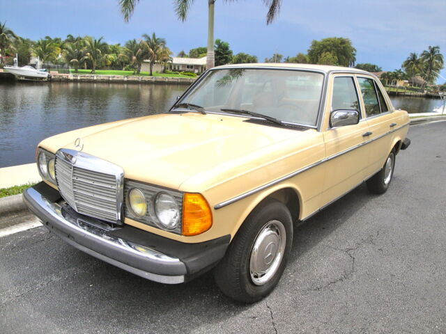 84 mercedes 300d turbo diesel rare to find so nice low for Mercedes benz diesel for sale in florida