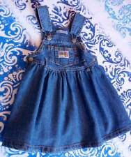 Salopette gonna in jeans blu x bimba 9/12 mesi-NUOVA-