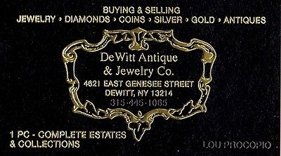 Dewitt Antiques Jewelry And Coin