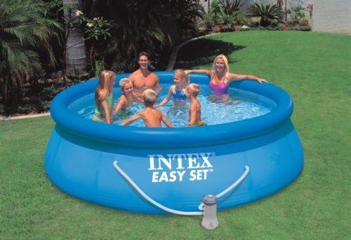 Top 5 intex above ground pools ebay - Intex above ground swimming pools ...