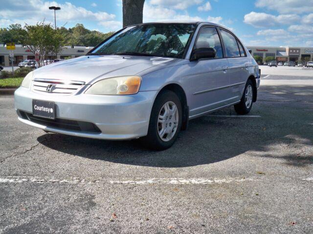 2002 Honda Civic Lx Auto Pwr Pkg 35 Mpg Runs Drives Gr8 Wow Look 99 No Reserve On 2040 Cars