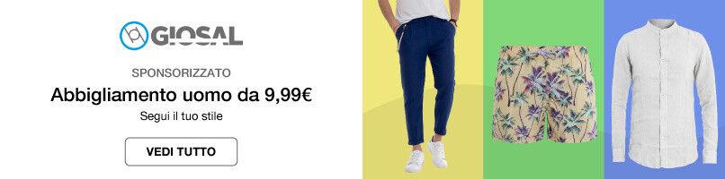 Abbigliamento uomo da 9,99€