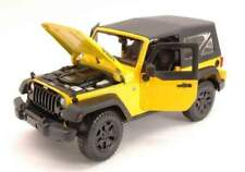 Maisto MI31676Y JEEP WRANGLER 2014 YELLOW 1:18