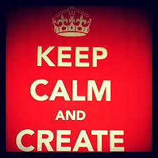 Keep Calm and Create