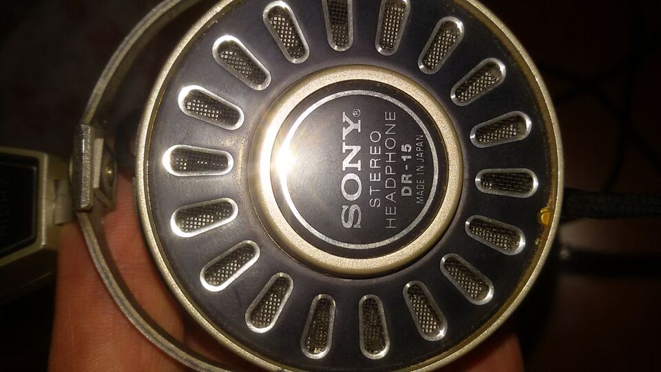 Cuffie vintage SONY DR 15