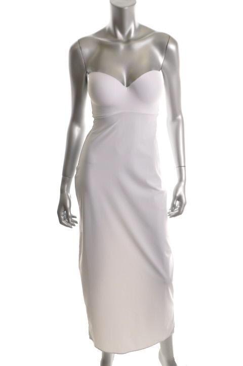 David's Bridal Full-length Strapless Bra Slip
