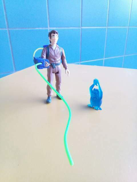 The Real Ghostbuster by Kenner Peter Venkman e fantasma