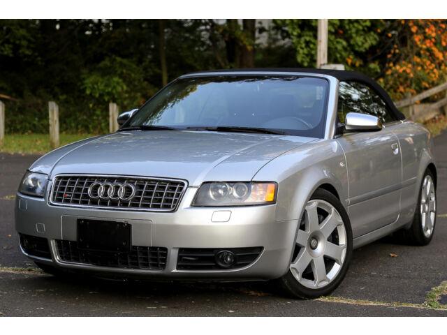 2004 audi s4 v8 6speed manual quattro awd convertible. Black Bedroom Furniture Sets. Home Design Ideas