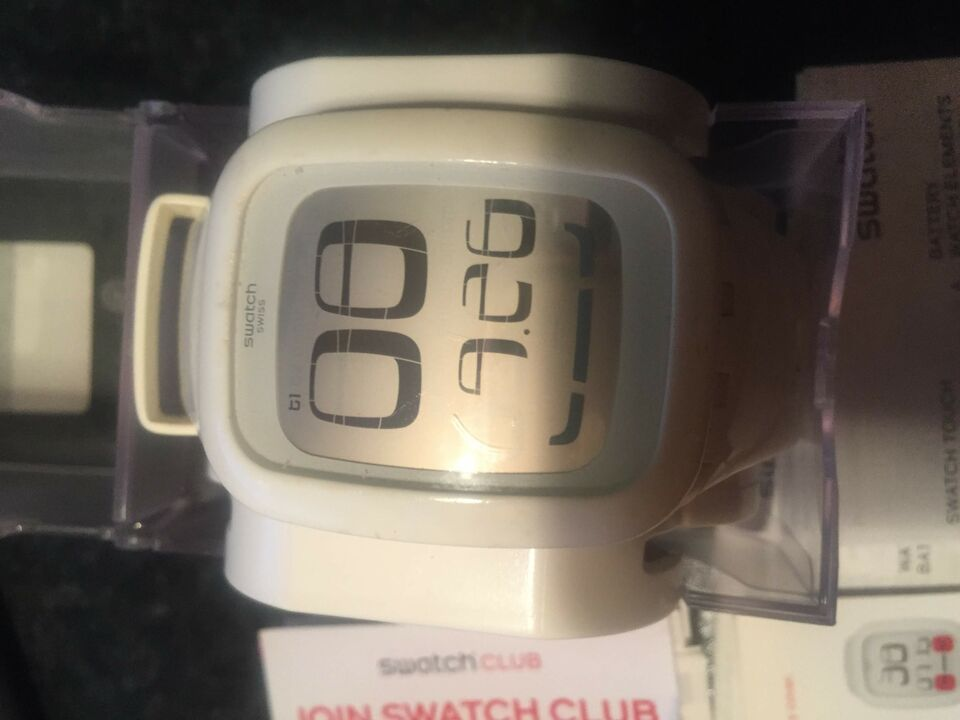 Orologio Swatch Touch bianco