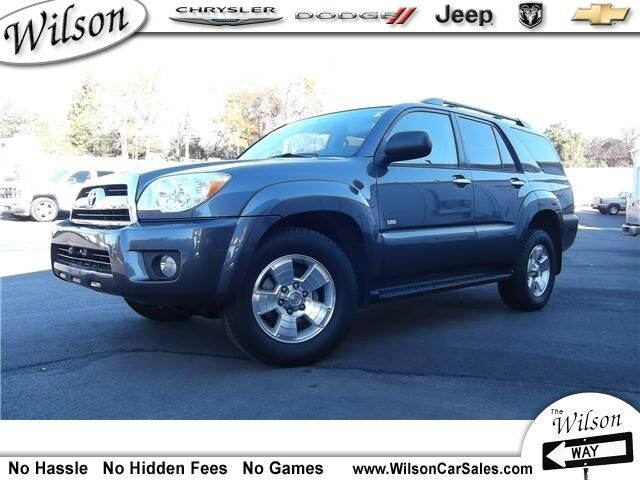2006 toyota 4runner used toyota 4runner for sale in winnsboro south carolina search. Black Bedroom Furniture Sets. Home Design Ideas