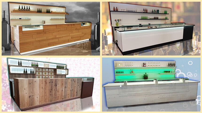 Banco bar completo refrigerato usati/fiera campionaria su misura 4