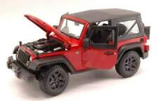 Maisto MI31676R JEEP WRANGLER 2014 RED 1:18
