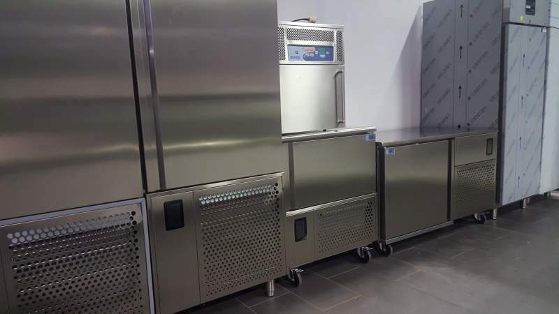 Blast freezer for ice cream or pastry italian brand 8