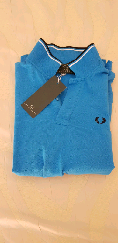 N 4 polo marca Fred Perry Tg M nuove 6