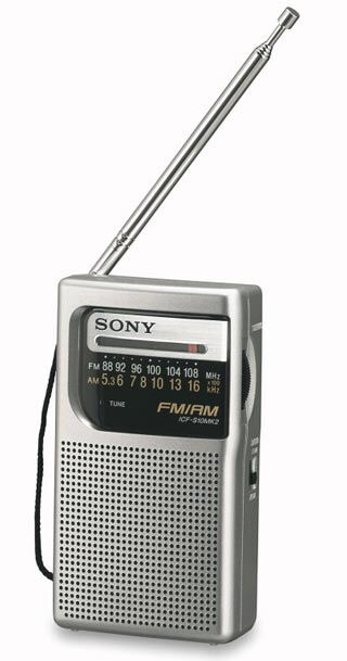 Top 12 portable amfm radios ebay a compact portable amfm radio that fits into the pocket the sony icf s10mk2 has a built in ferrite bar antenna for am and a telescopic antenna for fm sciox Image collections