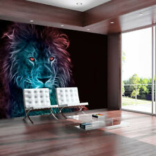 Fotomurale - Abstract lion - rainbow