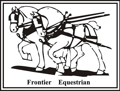 Great Deals From Frontier Equestrian Saddles Tack In Driving
