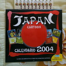 Tatsunoko calendario 2004 Japan CARTOON