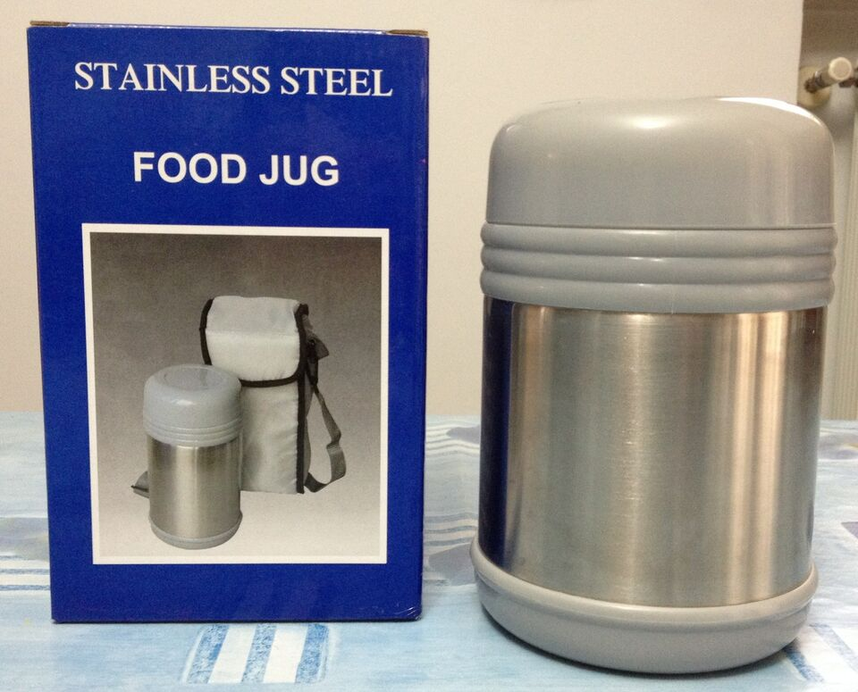 Thermos pappa stainless steel