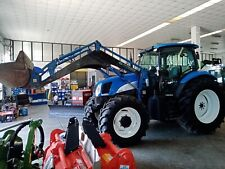 New holland ts 130 a con PALA
