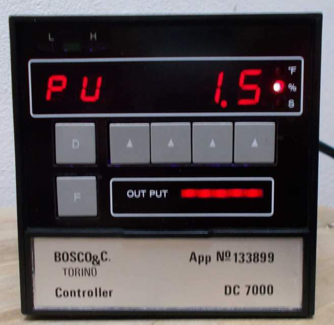 Controllo temperatura mod CD7000 temperature controller 2