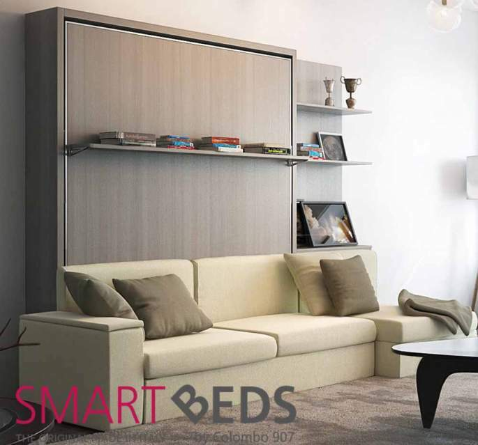 Letto a scomparsa Colombo Smart Beds