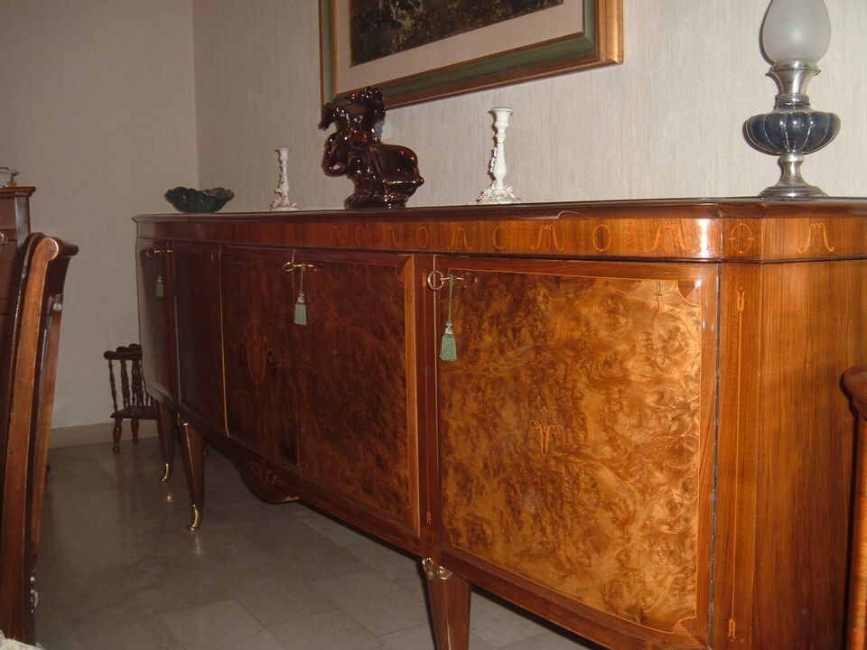 Tavolo e Mobile sala stile impero