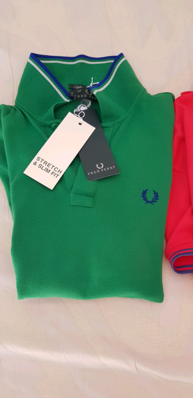 N 4 polo marca Fred Perry Tg M nuove 7