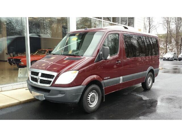 2008 dodge sprinter 2500 passenger passenger diesel used. Black Bedroom Furniture Sets. Home Design Ideas
