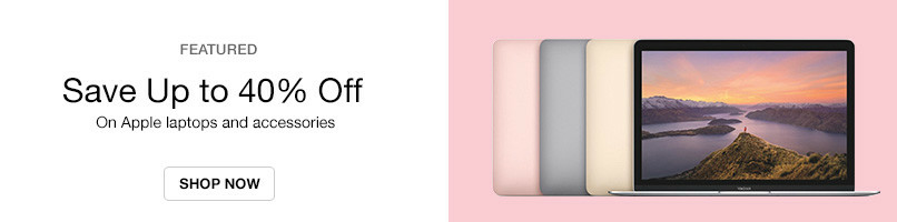 Up to 40% Off MacBooks | Free Shipping