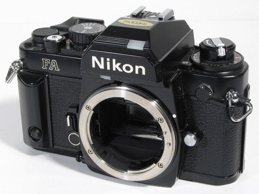 Nikon FA Vs. Zenit TTL | eBay