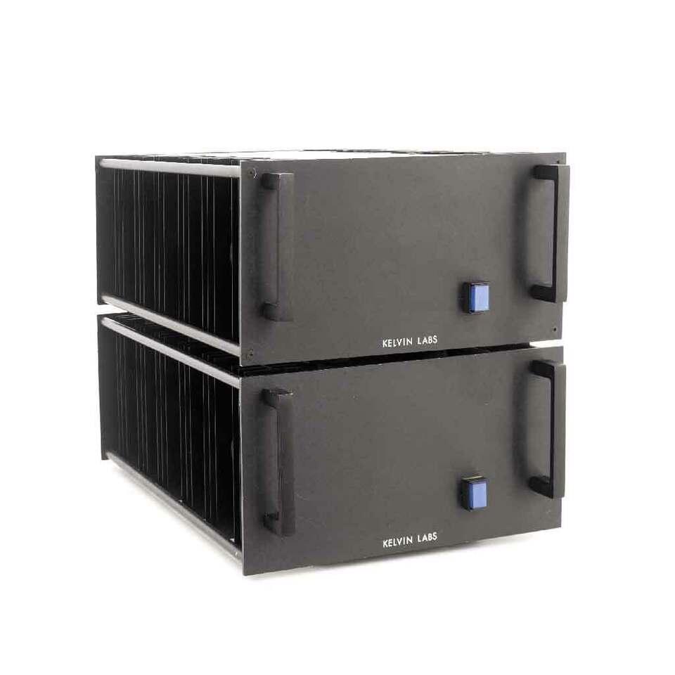 Kelvin Labs – Amplificatori Finali Mono Stato Solido – M60