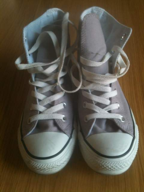 Converse originali All Star Chuck Taylor grigio grey gull 37,5