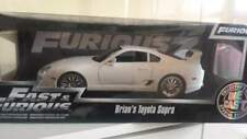 Fast And furios 7 Toyota supra di Brian (Paul walker) scala 1/18