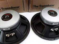 New woofer 25 cm la voce italiana