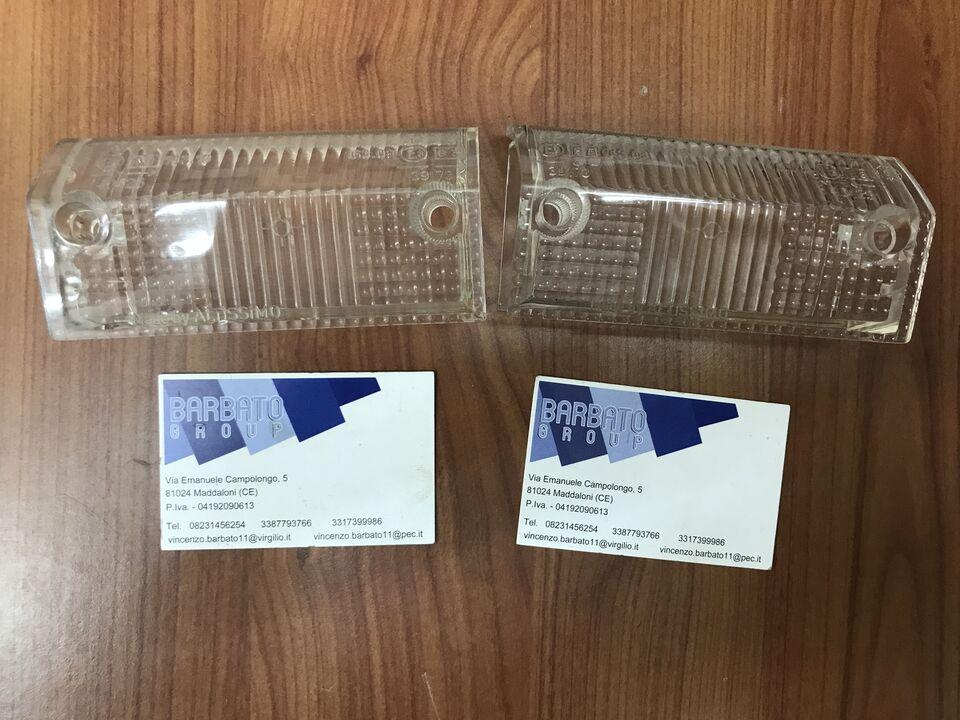 A112 6 -7 serie coppia plastiche fanalini ALTISSIMO