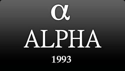 OFFICIAL ALPHA WATCH