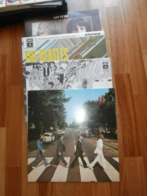 Dischi in vinile the beatles collection 3