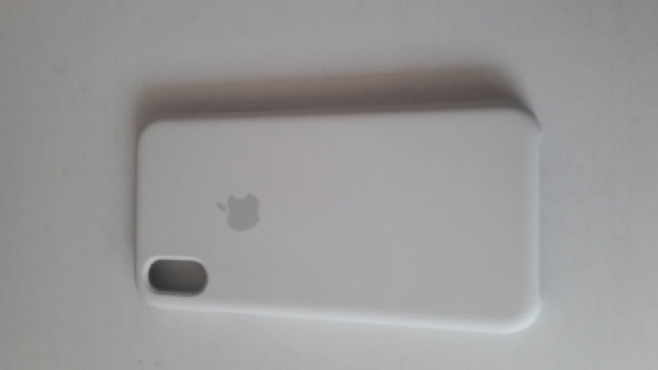 Cover silicone bianca Apple I PHONE XS Max