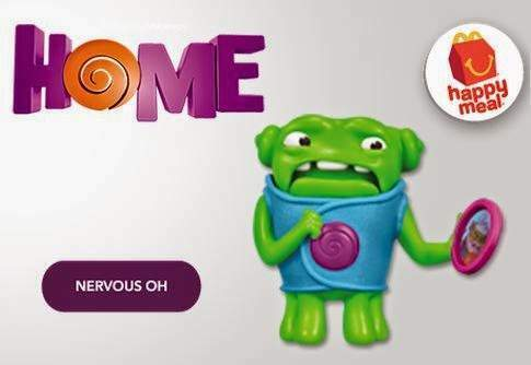 Personaggio Home dell' Happy Meal